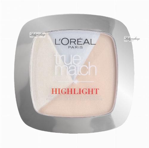 L'Oréal - True Match HIGHLIGHT - 2 in 1 Powder Glow Illuminator - Rozświetlacz