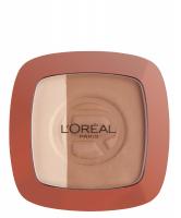 L'Oréal - GLAM BRONZE - Bronzer + rozświetlacz - 102 - BRUNETTE HARMONY - 102 - BRUNETTE HARMONY