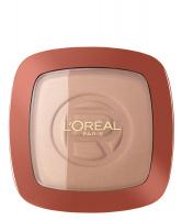 L'Oréal - GLAM BRONZE - Bronzer + rozświetlacz - 101 - BLONDE HARMONY - 101 - BLONDE HARMONY