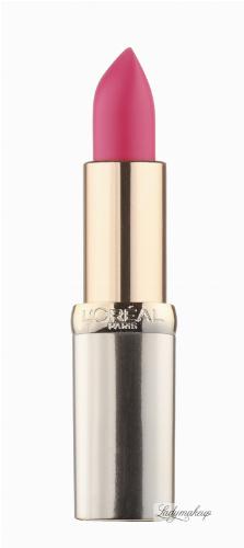 L'Oréal - Color Riche - Matte - Matowa pomadka do ust
