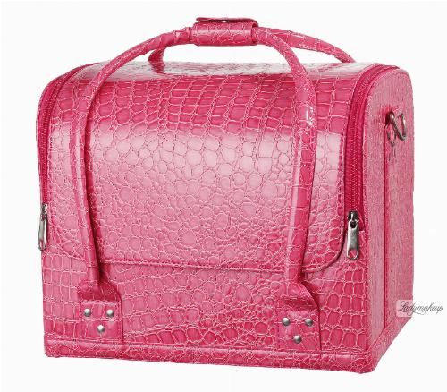 Różowa torba kosmetyczna - 16BCB034 - A