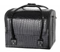 Czarny kufer kosmetyczny - 16BCB034 - B