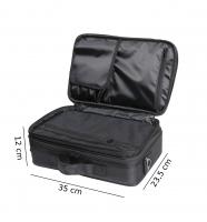 Czarna torba kosmetyczna - MAŁA - 16BCB033 - C