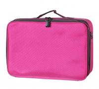 Różowa torba kosmetyczna - DUŻA - 16BCB033 - B