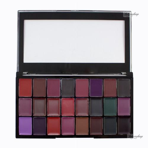 FREEDOM - PRO LIPSTICK PALETTE - NOIR - Palette of 24 lipsticks