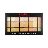 FREEDOM - HD PRO CONCEAL KIT - LIGHT MEDIUM - Palette of 24 concealers