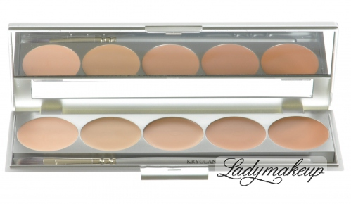 Kryolan -  HD Micro Foundation Palette - No. 1