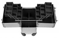 Kufer kosmetyczny - Silver Diamond - 16BCB008 - D