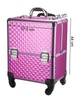 Kufer kosmetyczny - Pink Diamond - 16BCB008 - A