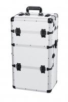 White MAKE-UP BOX - White strip - TC009