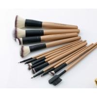 LancrOne - SUNSHADE MINERALS - Zestaw 13 pędzli do makijażu + etui z naturalnego lnu - 13/4