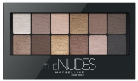 MAYBELLINE - THE NUDES EYESHADOW PALETTE - Paleta 12 cieni do powiek