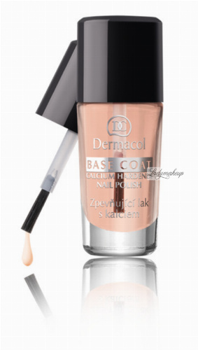 Dermacol - BASE COAT - Calcium Hardener Nail Polish