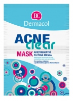 Dermacol - Acne Clear Mask - Maska do skóry tłustej, mieszanej i trądzikowej