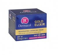 Dermacol - Gold Elixir - Rejuvenating Caviar Day Cream - Odmładzający krem do twarzy z kawiorem na dzień
