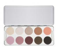 Kryolan - Palette of 10 eyeshadows - WU - WU