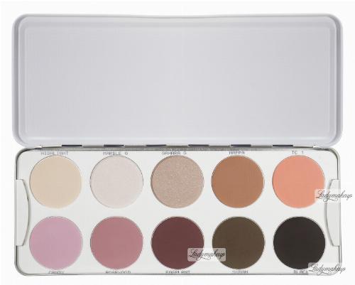 Kryolan - Palette of 10 eyeshadows