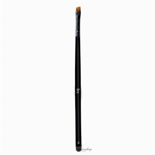 Ibra - Professional Brushes - Skośny pędzel do brwi i eyelinera - 15