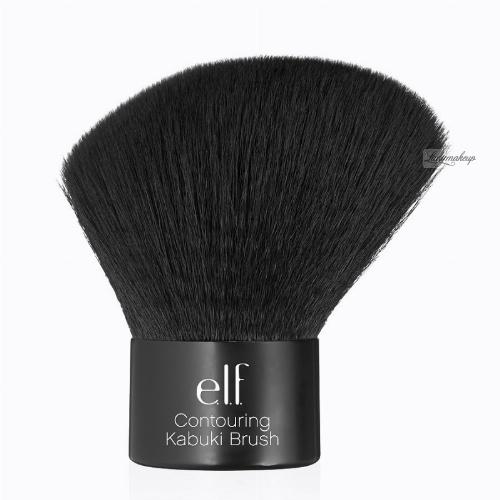 ELF - Contouring Kabuki Brush - Pędzel do pudru - 84032