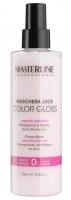 MASTERLINE - GLOSSY MASK - Colour-treated hair - Pomegranate and Mallow - Maska ochronna i nadająca połysk dla włosów farbowanych i rozjaśnianych