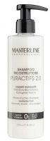 MASTERLINE - RECONSTRUCTIVE PURACTIFS 2.0 SHAMPOO - WEAKENED HAIR - Biomimetic Keratin - Sea Collagen - Rekonstruujący i regenerujący szampon do włosów delikatnych i osłabionych