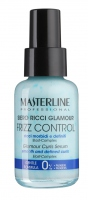 MASTERLINE - FRIZZ CONTROL - GLAMOUR CURLS SERUM - Smooth and defined curls - Serum do włosów kręconych