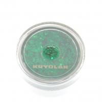 Kryolan - Gruby Brokat Do Ciała 25/90 - EMERALD GREEN - EMERALD GREEN