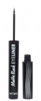 MUA - Matte Black EYELINER - Matowy eyeliner