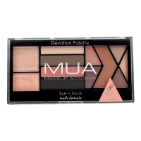 MUA - Eye+Face Multi-Formula - Devotion Palette - Paleta cieni do powiek