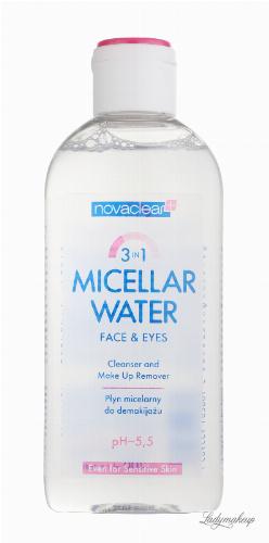 NovaClear - Micellar Water 3in1 - Płyn micelarny - 200 ml