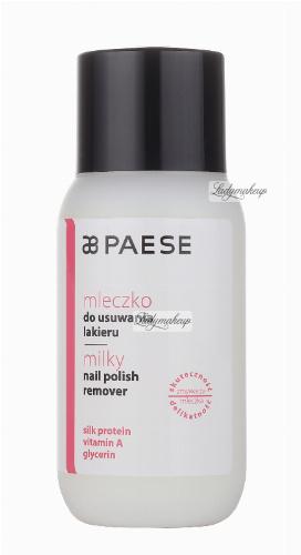 PAESE - Milky Nail Polish Remover - Mleczko do usuwania lakieru