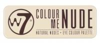 W7 - COLOUR ME NUDE - NATURAL NUDES - EYE COLOUR PALETTE - Paleta 12 cieni do powiek