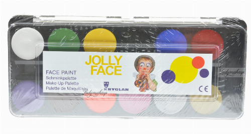 Kryolan - Paletka farbek do malowania twarzy