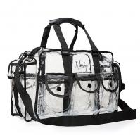 Nanshy - Large Clear PVC Makeup Kit Bag - Duża transparentna torba kosmetyczna