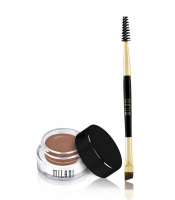 MILANI - Stay Put Brow Color + double-sided brush - 01 SOFT BROWN
