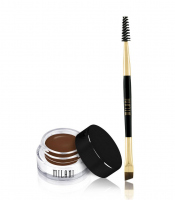 MILANI - Stay Put Brow Color + double-sided brush - 04 BRUNETTE - 04 BRUNETTE
