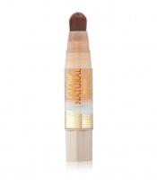 MILANI - GLOW NATURAL - Brush-On Liquid MakeUp Oil Free - Podkład rozświetlający do twarzy - 03 - MEDIUM TO TAN - 03 - MEDIUM TO TAN