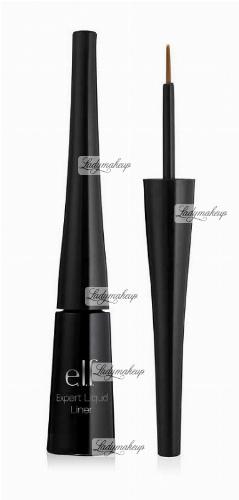 ELF - Expert Liquid Eyeliner - Eyeliner w płynie