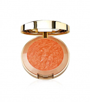 MILANI - Baked Powder Blush - Róż wypiekany - 02 - ROSE D'ORO  - 02 - ROSE D'ORO