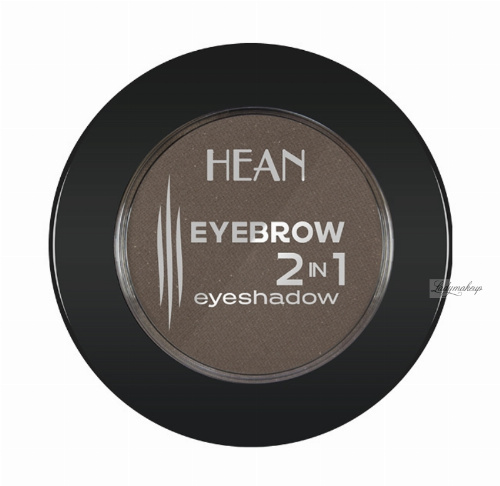 HEAN - EYEBROW 2 IN 1 EYESHADOW - Cień do stylizacji brwi i cień do powiek