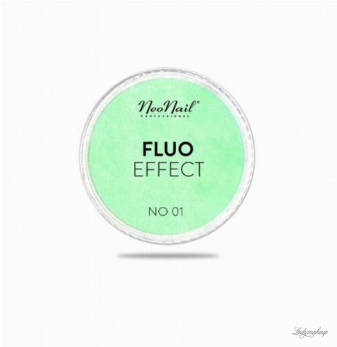NeoNail - FLUO EFFECT - Fluorescencyjny pyłek do paznokci