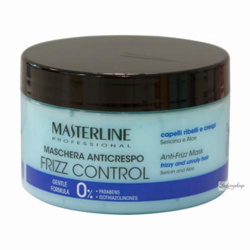 MASTERLINE - ANTI-FRIZZ MASK - Frizzy and unruly hair - Sericin and Aloe - Maska do włosów puszących się, kręconych lub prostych