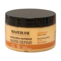 MASTERLINE - NOURISHING MASK - NUTRI REPAIR - Dry hair - Głęboko regenerująca maska do włosów suchych, łamliwych i zniszczonych