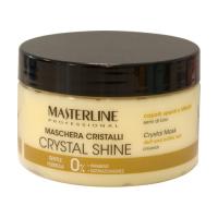MASTERLINE - CRYSTAL SHINE MASK - Dull and brittle hair - Linseeds - Nadająca połysk i miękkość maska do włosów matowych i łamliwych