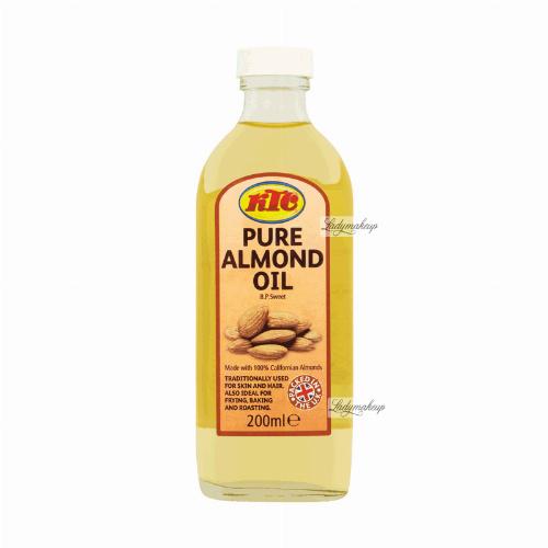 KTC - PURE ALMOND OIL - Olej migdałowy - 200 ml