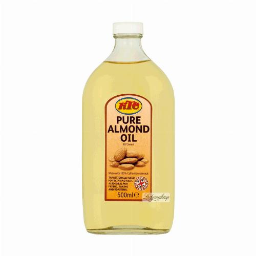 KTC - PURE ALMOND OIL - Olej migdałowy - 500 ml