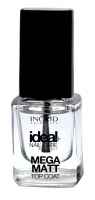 INGRID - Ideal Nail Care Definition - MEGA MATT TOP COAT - Nawierzchniowy preparat matujący