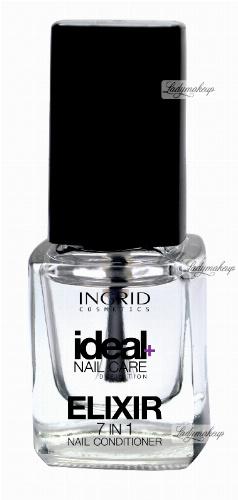 INGRID - Ideal Nail Care Definition - 7 IN 1 ELIXIR NAIL CONDITIONER - Kompleksowa kuracja paznokci 7 w 1