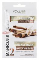 VOLLARÉ - INSTANTLY REGENERATING TREATMENT - MANICURE - Regenerująca kuracja do dłoni - Scrub złuszczający i regenerująca maska kremowa