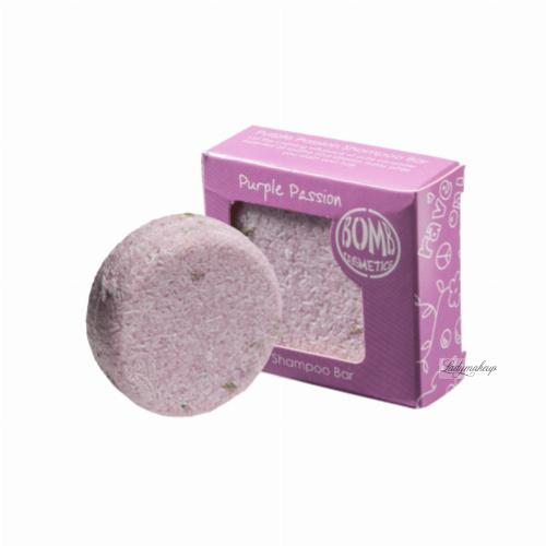 Bomb Cosmetics - Solid Shampoo Bar -  Purple Passion - Szampon do włosów w kostce - PURPUROWA NAMIĘTNOŚĆ